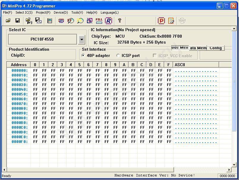 руками схема программатора