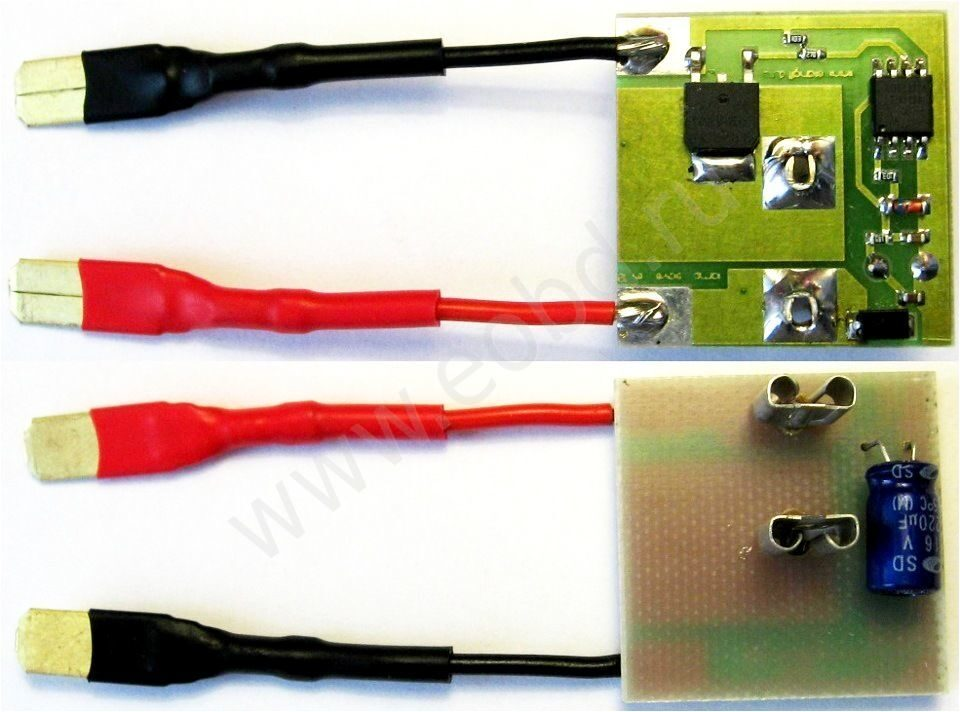 Модуль защиты ламп h7 своими руками 56