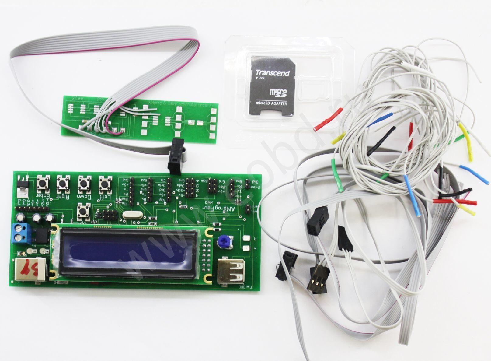 Программатор одометров amprog схема своими руками 10