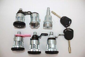 Форд Транзит комплект замков для машины МК5 1994 1995 1996 1997 1998 1999 2000